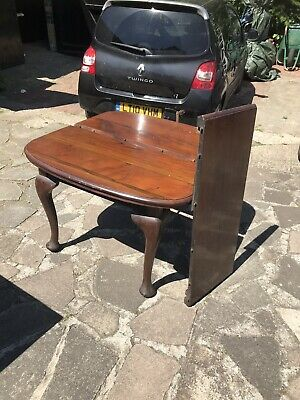 antique mahogany Wind Out Dining Table