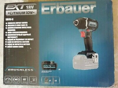 Erbauer  Brushless  Impact Driver    Base Only   18V