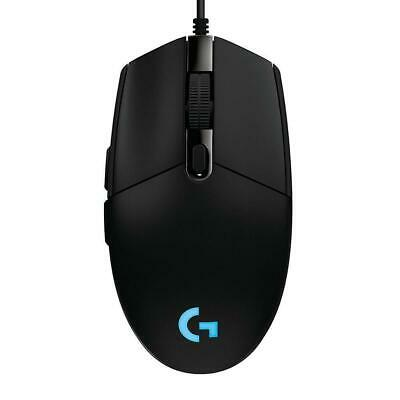 Logitech G PRO Wired Gaming Mouse Light Sync RGB HERO 16K SENSOR 6 Buttons