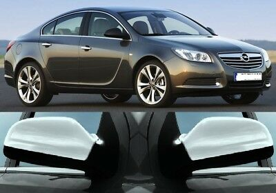 2009 Up Vauxhall Opel INSIGNIA Chrome Mirror Cover 2 Pieces S.STEEL