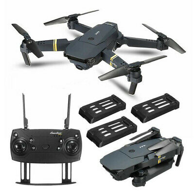 Eachine E58 Drone x Pro Drone Selfi WIFI con 1080 HD Quadcopter Camera 4 * Bat