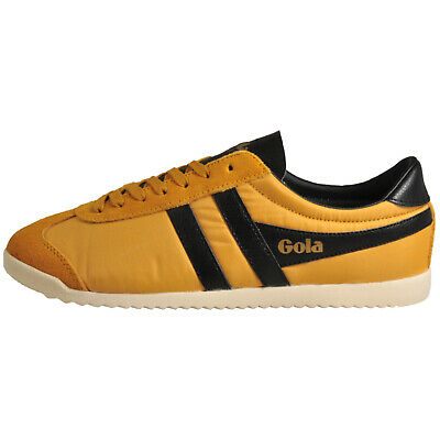 Gola Classics Bullet Nylon Men's Causal Retro Vintage Fashion Trainers Sun Yello