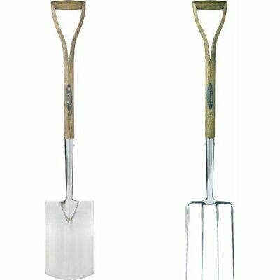 Spear & Jackson Traditional Digging Spade & 4550DF Traditional Stainless Steel D