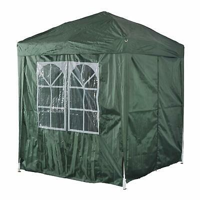 Outsunny 2m x 2m Garden Heavy Duty Pop Up Gazebo Marquee Party Tent Wedding Awni