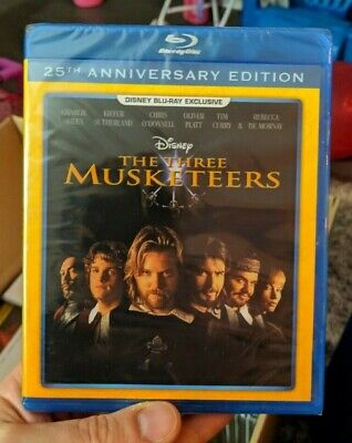 The Three Musketeers - 25th Anniversary Edition (Blu-ray 1993) Disney Exclusive