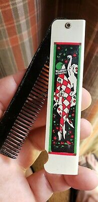 Antique Vintage Art Deco Advertising Comb Unique