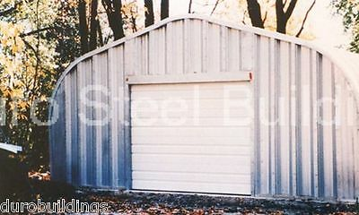 DuroSPAN Steel 25x62x12 Metal Garage Workshop DIY Building Kit Factory DiRECT