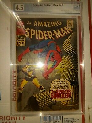 Amazing Spider-Man #46 pgx 4.5 first appearance of the shocker cgc cbcs