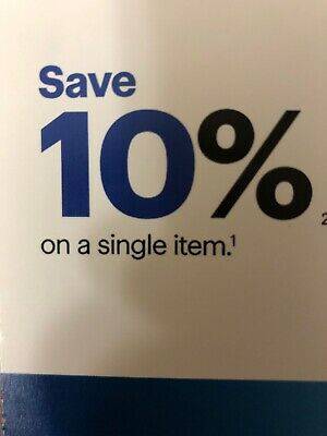 BEST BUY 10% OFF Single Item Coupon In-Store or Online, expires 8/15/19