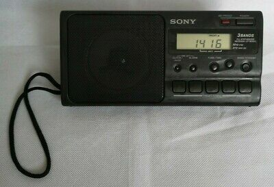 Vintage Sony Clock Radio ICF – M350L 3 Bands MW/LW/FM Portable Receiver