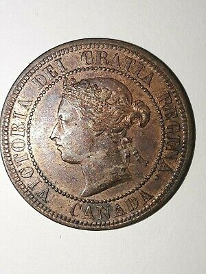 1876 H Canada large cent