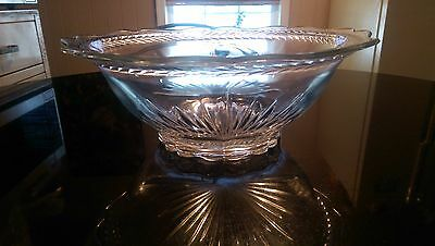 Beautiful Antique Patterned Glass Bowl
