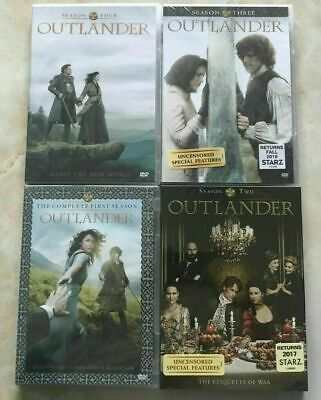 Outlander - Complete Seasons 1-3 (DVD, 2018, 14-Disc Set) 1 2 3