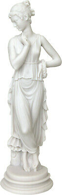Kore of May / Persephone Goddess Queen of the underworld Alabaster statue 25cm