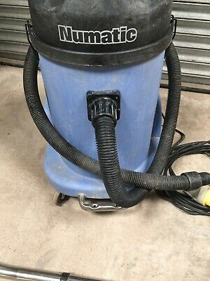 EXCELLENT CONDITION Numatic WVD - 2 wet dry vacuum HARDLEY USED