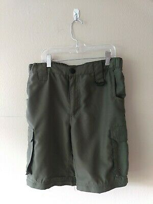 BOY SCOUTS OF AMERICA Sz Youth Large Uniform Shorts Cargo  BSA