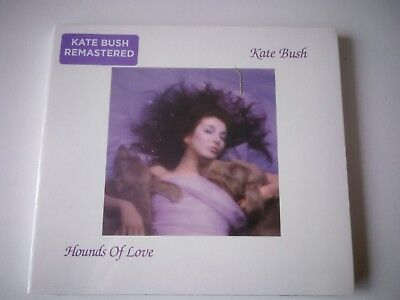Kate Bush Hounds Of Love Remastered Cd 2018 New And Sealed.