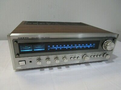 Vintage Onkyo TX-2500 Stereo Receiver w/ LED Upgraded Dial Lamps -------> Cool!