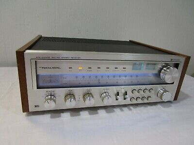 Vintage Realistic STA-2000D Stereo Receiver w/ LED Upgraded Dial Lamps --> Cool!