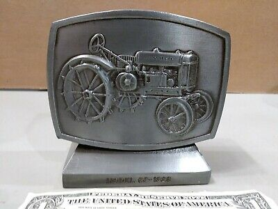 John Deere Employees Credit Union 5th Edition 1982 Metal Coin Bank