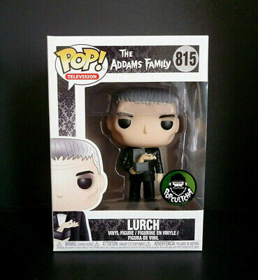 Funko Pop! The Addams Family Lurch with Thing Popcultcha Exclusive + Protector