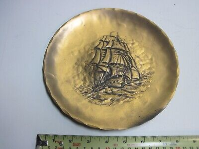 1971 USS Constitution Bronze Plate by Wendell August Forge Liberty Mutual Club
