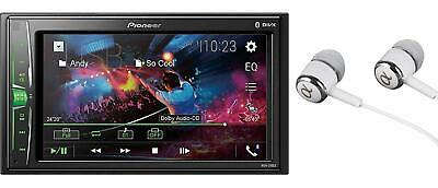 "Pioneer Mvh-210Ex 6.2"" Vga Touchscreen Weblink Double Din, Bluetooth Usb Mp3 Aux"