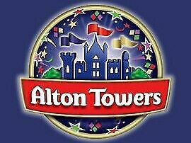 2 Alton Towers paper tickets  - Friday 19th July 2019.  Price per pair