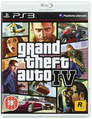 Grand Theft Auto IV (PS3) new & sealed