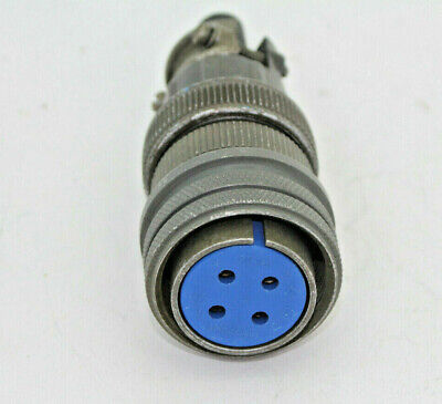 Amphenol 97-3106A-20-4S Straight 4 Pin Contact Plug Assembly New