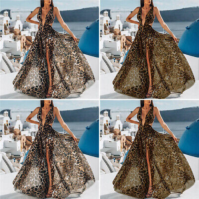 Women Dress Ladies Dress Summer Casual Fashion Party Maxi Sexy Evening