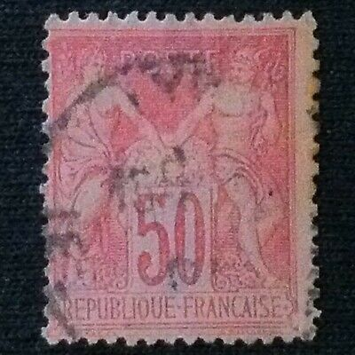 France  SC #107  Used  1898
