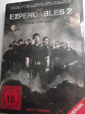 The Expendables 2 - Back of War - UNCUT - S. Stallone, Bruce Willis, J. Statham