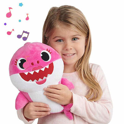 For Christmas Gift Baby Shark Plush Singing Plush Toys Music Doll English Song