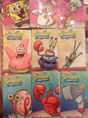 Spongebob Dave & Buster's Coin Pusher Single Cards