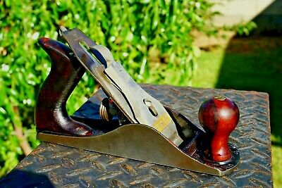 Vintage Stanley Bailey SW No.4 Jack Plane Smooth Bottom Made In USA,Nice Plane!