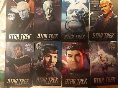 Dave and Buster's Aliens Star Trek Non-Foil Arcade Card Singles