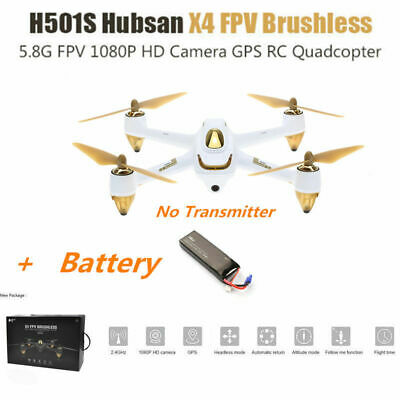Hubsan H501S X4 5.8G FPV Brushless RC Quadcopter 1080P Headless Follow Me GPS US