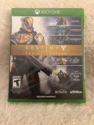 Destiny: The Collection (Microsoft Xbox One, 2016) Activision Brand New Sealed