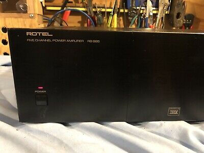 Rotel RB-985 THX -  5 channel Power Amplifier