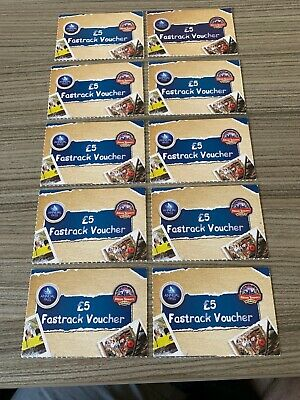 * Merlin * Fastrack £5 Fast Track  * Alton Towers *