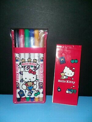 e14dc3a41 SANRIO HELLO KITTY Color Coloring Book : Red and Pink 2pcs 1 Set ...