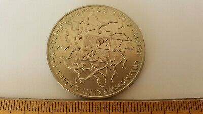 1974 New Zealand One Dollar  Commonwealth Games  Commemorative Coin.