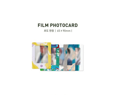 Day6 - 5Th Mini Album The Book Of Us : Gravity Pre-Order Film Photo Card Wonpil
