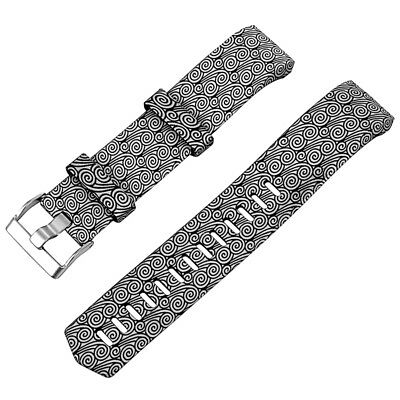 2X(Replacement Silicone Band Strap Wristband For Fitbit CHARGE 2 Color:blac A8K7
