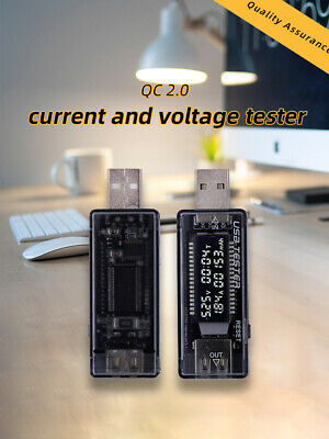 USB LCD Current Voltage Charger Capacity Tester Detector Power Meter  Voltmeter