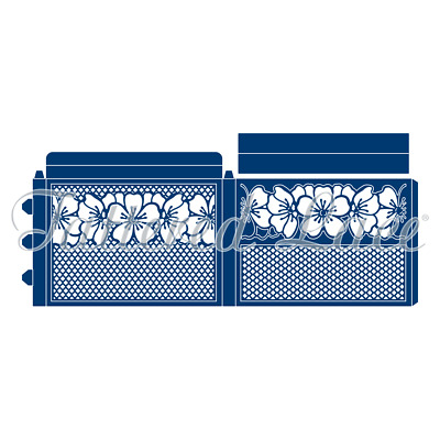 New Tattered Lace Sliding Box Cutting Dies 441579 - 5 Die Set