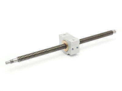 Trapezoidal Threaded Spindle Tr 12x3 Right Ready to Install 1235mm + Nut