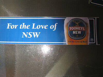 Tooheys For The Love Of Nsw Sticker
