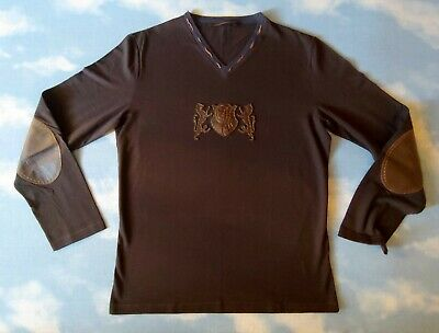T-SHIRT  man  ROBERTO CAVALLI CLASS TG.50 circa L made in Italy  New